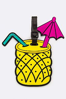 Pineapple Juice Jelly Bag & Luggage Tag