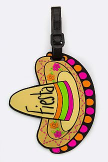 Sombrero Jelly Bag & Luggage Tag
