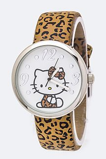 Hello Kitty Leopard Watch