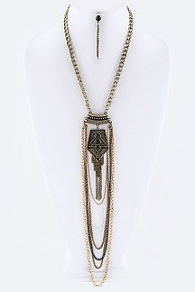 Iconic Boho Layer Chains Necklace Set