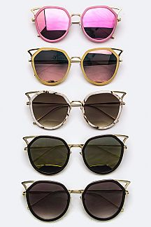 Iconic Rim Cat Eye Sunglasses