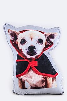 Chihuahua Riding Hood Cushion