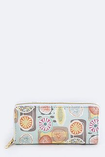 Iconic Floral Print Wallet