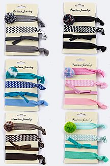 Assorted Hair Ties Set