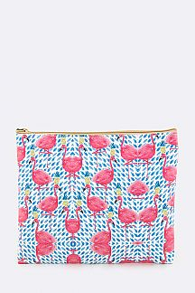 Flamingo Fashion Pouch