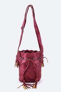 Drawstring Bucket Swing Bag