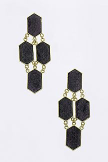 Color Python Statement Earrings