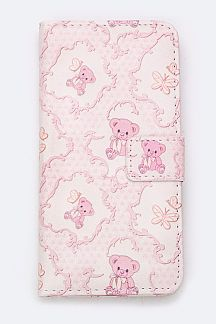 Teddy Bear Print Iphone 6S Plus Fashion Case