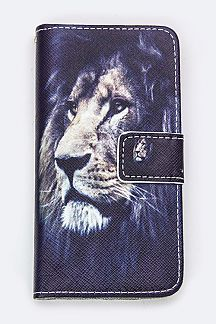 Lion Print Iphone 6S Fashion Case