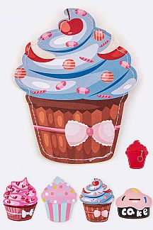 Assorted Cupcake Coin Purse