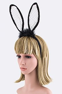 Net Bunny Ears Headband
