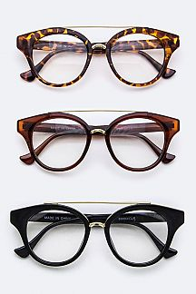 Top-Bar Classic Optical Glasses