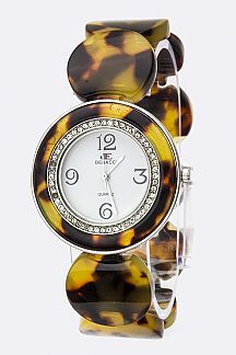 Disks Bracelet Watch
