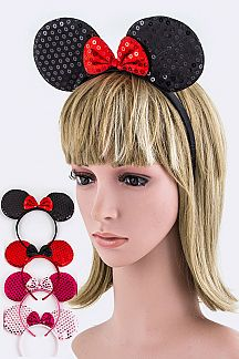 Sequins Minnie Ears Headband