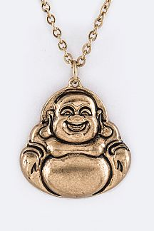 Lucky God Pendant Necklace