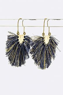 Tassel Fan Earrings
