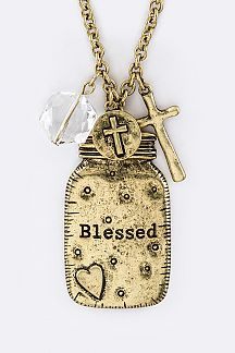 Blessed Jar Pendant Necklace