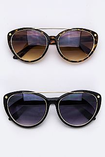 Top Bar Cat Eye Sunglasses
