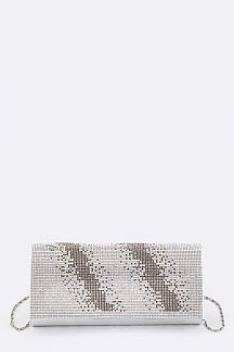 Crystal Flap Evening Clutch