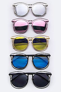 Iconic Layered Rim Sunglasses