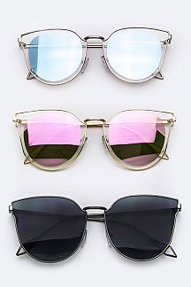 Iconic Split Tone Lens Sunglasses