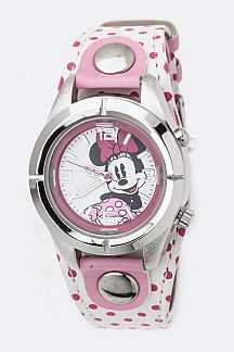 Polka Dots Minnie Sports Watch