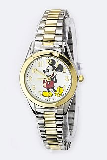 Classic Mickey Stretch Bracelet Watch
