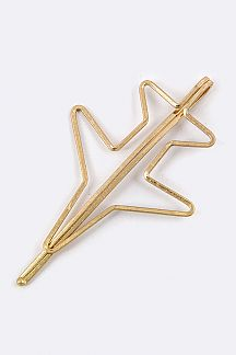 Airplane Bobby Pin