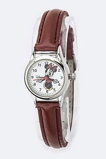 Minnie Skinny Strap Watch