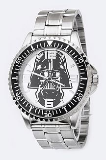 Darth Vader Men's Bracelet Watch