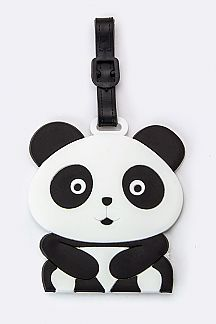 Panda Jelly Bag & Luggage Tag