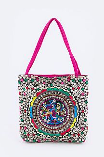 Tibetan Embroidery Fashion Tote