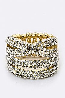Layer Crystals Stretch Ring