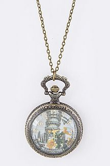 Summer In Italy Fashion Pendant Watch- AT133