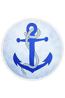 Anchor Viscose Light Weight Round Throw