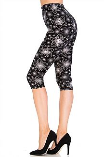 Gazing Star Capri Leggings