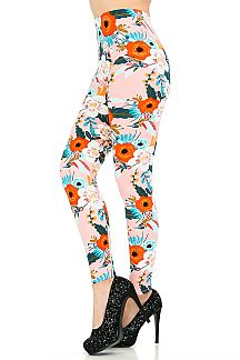 Humming Bird Printed Leggings
