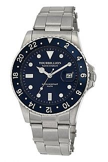 TOURBILLION STAINLESS STEEL WATCH VINTAGE COLLECTION