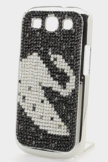 Crystal Swan Galaxy S3 Case