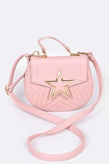 Gold Star Iconic Clutch Bag