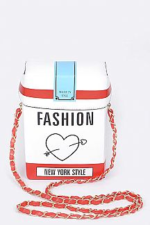 Cigarette Pack Crossbody Bag