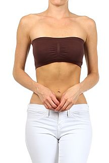 Seamless Padded Bandeau Top