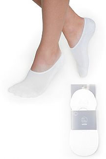 No Show Women's White Socks