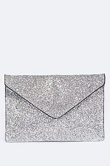 Glittered Envelope Clutch