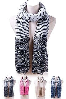 Mix Stripes Lightweight Fashion Scarf