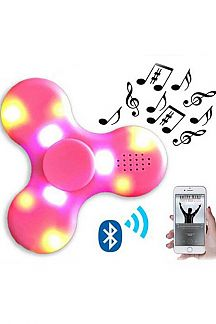 Bluetooth Speaker Lighted Spinner