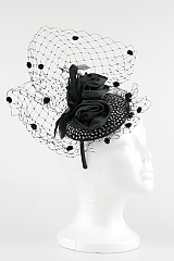 Spotted Feather Fascinator