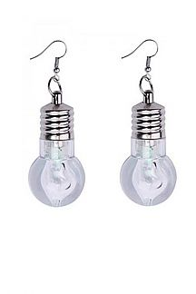 Flashing Lightbulb Earrings