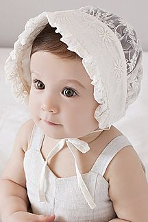Cotton Lace Baby Girl Sun Hat