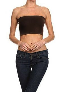 Jersey Knit Tube Top